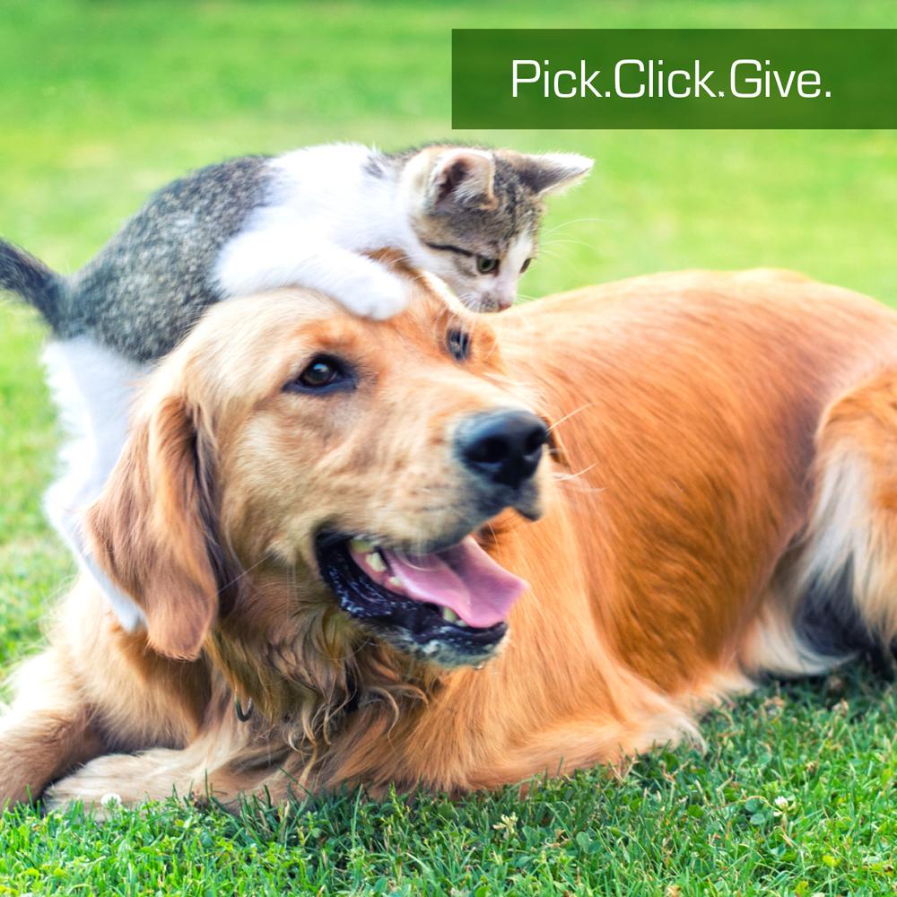 Pick.Click.Give!